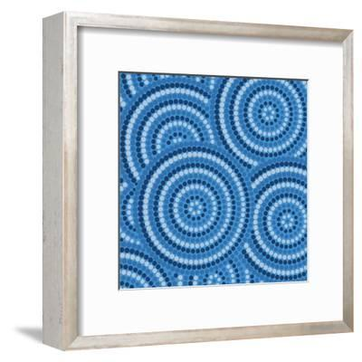 Aboriginal Abstract Art-Piccola-Framed Art Print