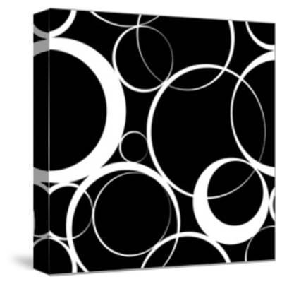 Seamless Monochrome Design-Maksim Krasnov-Stretched Canvas Print