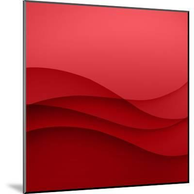 Abstract Red Background-Click Bestsellers-Mounted Art Print