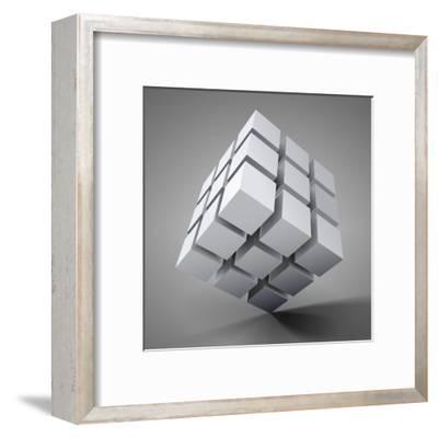 3D Illustration-Kundra-Framed Art Print