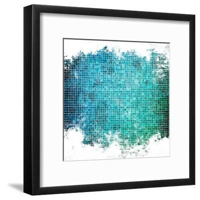 Abstract Mosaic Background-Eky Studio-Framed Art Print