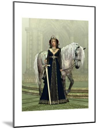Lady Of The Castle-Atelier Sommerland-Mounted Art Print