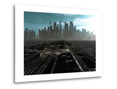 Road To Dead City-rolffimages-Metal Print