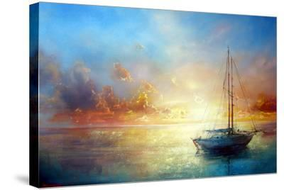 Seascape Pier-yakimenko-Stretched Canvas Print