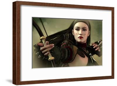 Archer Maid-Atelier Sommerland-Framed Art Print
