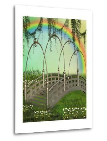 Fantasy Bridge-justdd-Metal Print