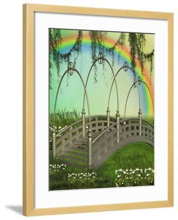 Fantasy Bridge-justdd-Framed Art Print