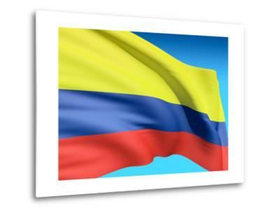 Flag Of Colombia-bioraven-Metal Print