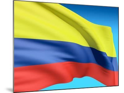 Flag Of Colombia-bioraven-Mounted Art Print