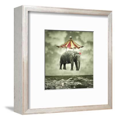 Fanciful Elephant-ValentinaPhotos-Framed Art Print