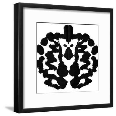 Rorschach Test-akova-Framed Art Print