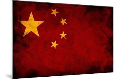 Flag Of China-igor stevanovic-Mounted Art Print