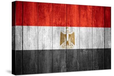 Flag Of Egypt-Miro Novak-Stretched Canvas Print