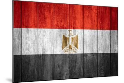 Flag Of Egypt-Miro Novak-Mounted Art Print