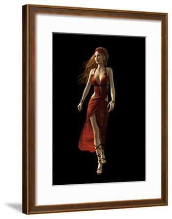 The Walk, 3D Cg-Atelier Sommerland-Framed Art Print