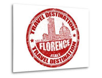 Florence Stamp-radubalint-Metal Print