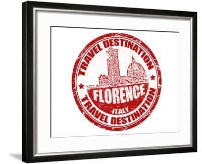 Florence Stamp-radubalint-Framed Art Print