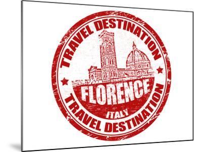 Florence Stamp-radubalint-Mounted Art Print