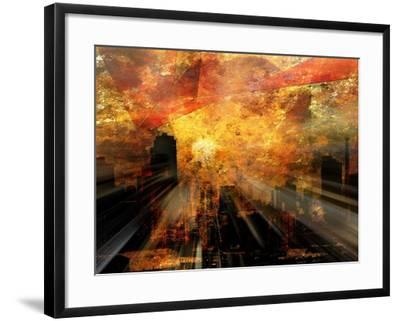 Nyc Sunlight-rolffimages-Framed Art Print