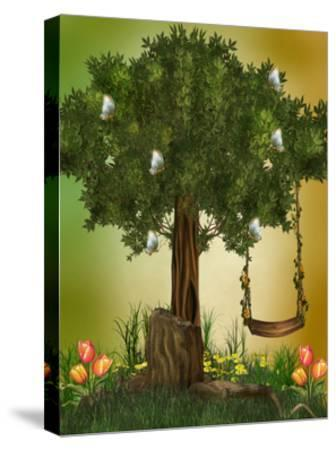 Fairytale-justdd-Stretched Canvas Print