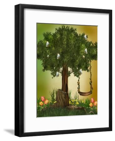 Fairytale-justdd-Framed Art Print