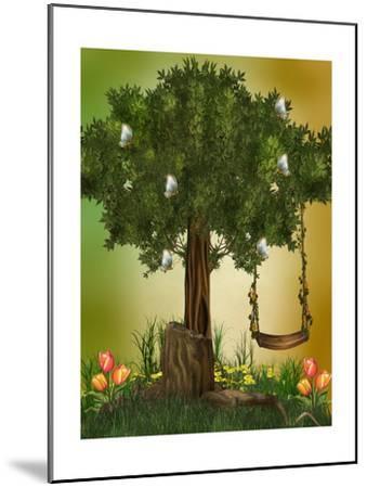Fairytale-justdd-Mounted Art Print