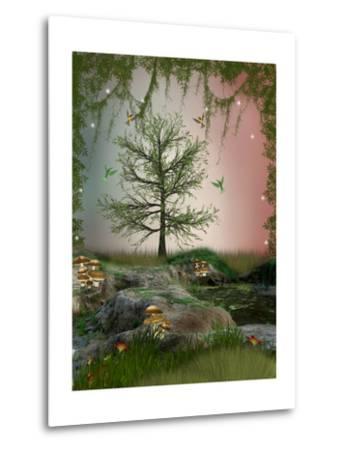 Fantasy Landscape-justdd-Metal Print