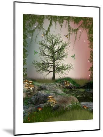 Fantasy Landscape-justdd-Mounted Art Print