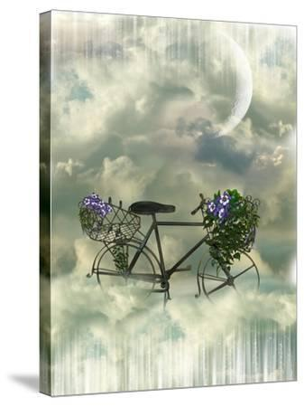 Classic Bycicle-justdd-Stretched Canvas Print