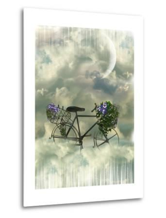Classic Bycicle-justdd-Metal Print