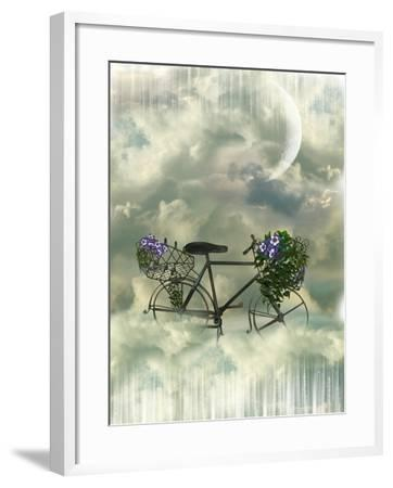 Classic Bycicle-justdd-Framed Art Print