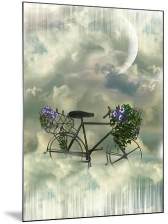 Classic Bycicle-justdd-Mounted Art Print