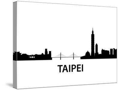 Skyline Taipei-unkreatives-Stretched Canvas Print