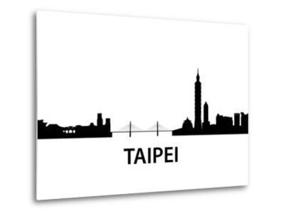 Skyline Taipei-unkreatives-Metal Print