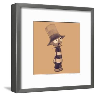Littleboy-Andrius Repsys-Framed Art Print