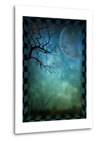 Magical Forest-inlove-Metal Print