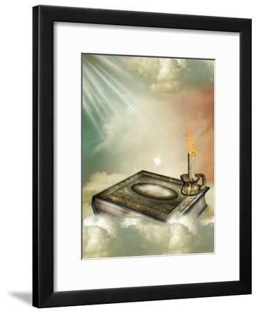 Fantasy Storybook-justdd-Framed Art Print