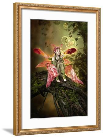 Bubble Magic-Atelier Sommerland-Framed Art Print
