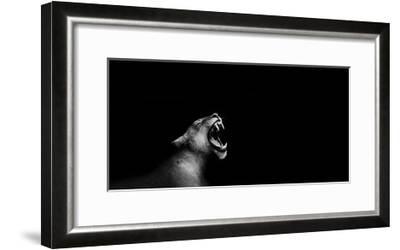 Lion Roarng-Donvanstaden-Framed Art Print