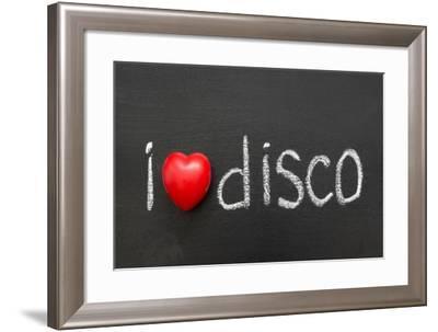 Love Disco-Yury Zap-Framed Art Print