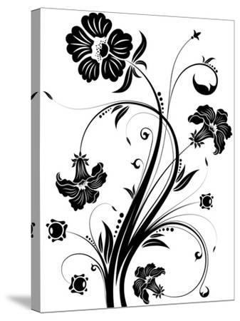 Floral Background- TAlex-Stretched Canvas Print