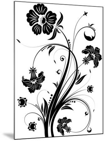 Floral Background- TAlex-Mounted Art Print