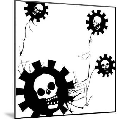 Flower Of Evil #1-JeffreyThompson-Mounted Art Print