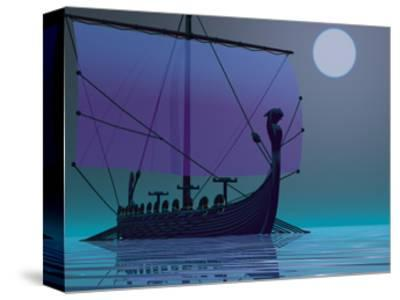 Viking Journey-Corey Ford-Stretched Canvas Print