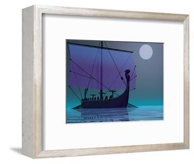 Viking Journey-Corey Ford-Framed Premium Giclee Print