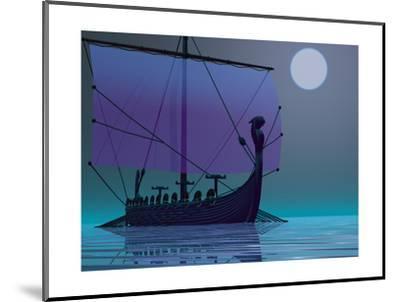 Viking Journey-Corey Ford-Mounted Premium Giclee Print
