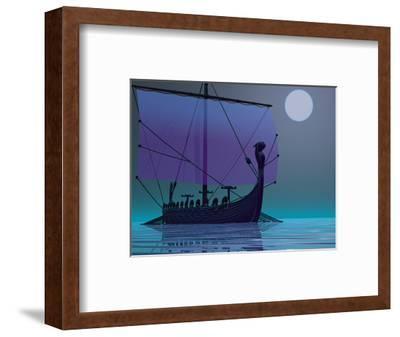 Viking Journey-Corey Ford-Framed Art Print