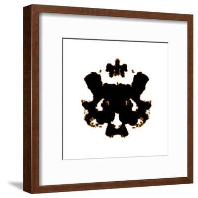 Rorschach-kentoh-Framed Art Print
