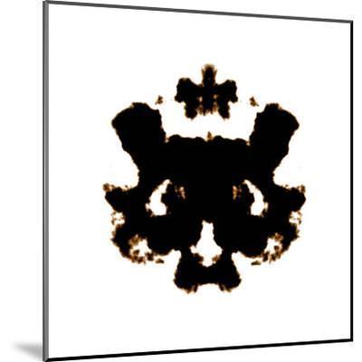 Rorschach-kentoh-Mounted Art Print