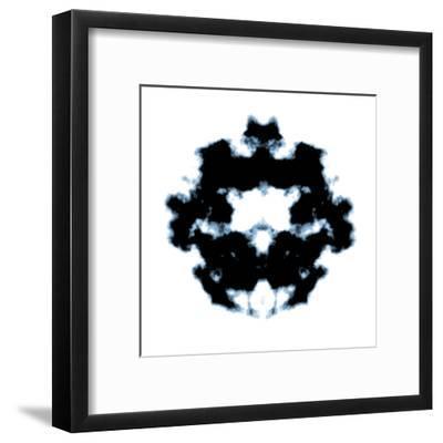 Rorschach-magann-Framed Art Print